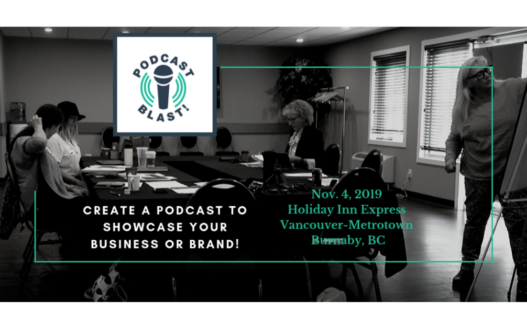 You're the expert. Share your skills with a well-produced podcast